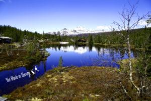 Une blonde en Norvège - La Norvège