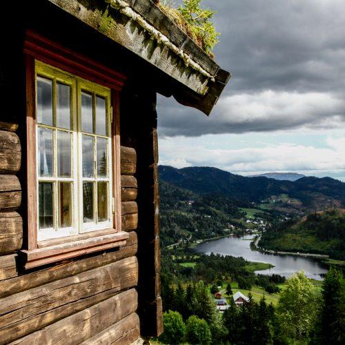 Une blonde en Norvège - Telemark