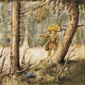 Une blonde en Norvège - askeladen-et-le-pari-contre-le-troll