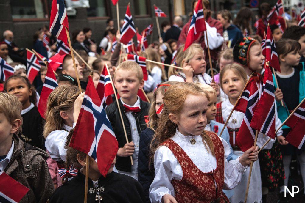 17 Mai - Une blonde en Norvège