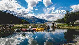 Loen - Une blonde en Norvège