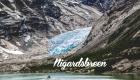 Nigardsbreen - Une blonde en Norvège