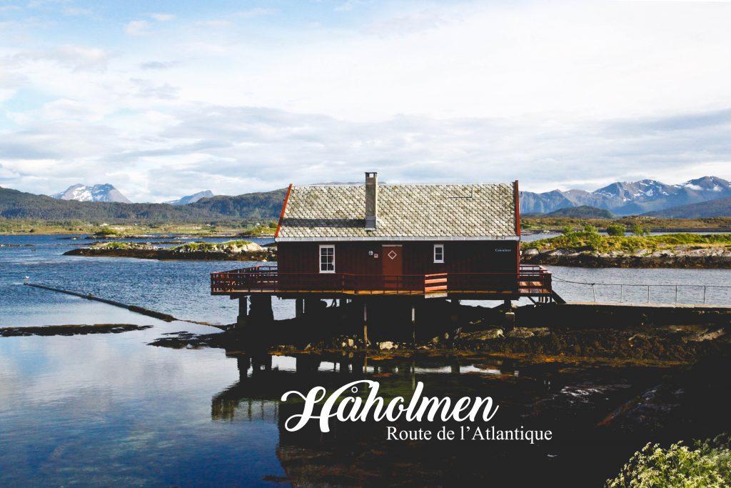 Une blonde en Norvège-håholmen 1