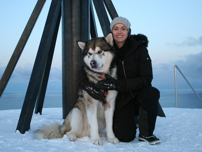 Sophie Jovillard - Une blonde en Norvège
