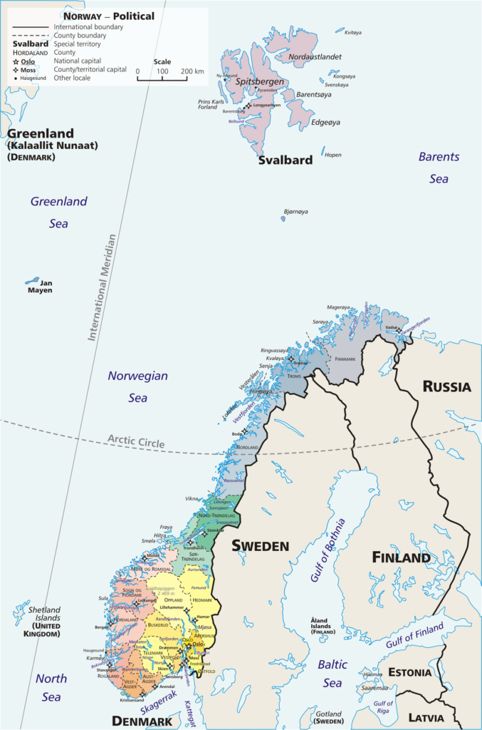 Retour du soleil au Cap Nord - Une blonde en Norvège