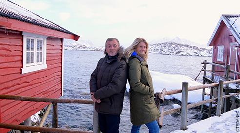 Chacun son monde aux îles Lofoten - Une blonde en Norvège