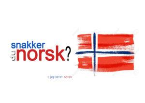 Apprendre le Norvégien - Une blonde en Norvège