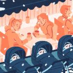 La sieste nordique - Une blonde en Norvège