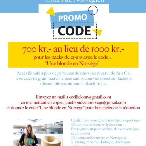Norsk for deg - Une blonde en Norvège