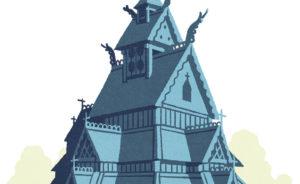 Les églises en bois debout - Même pas froid
