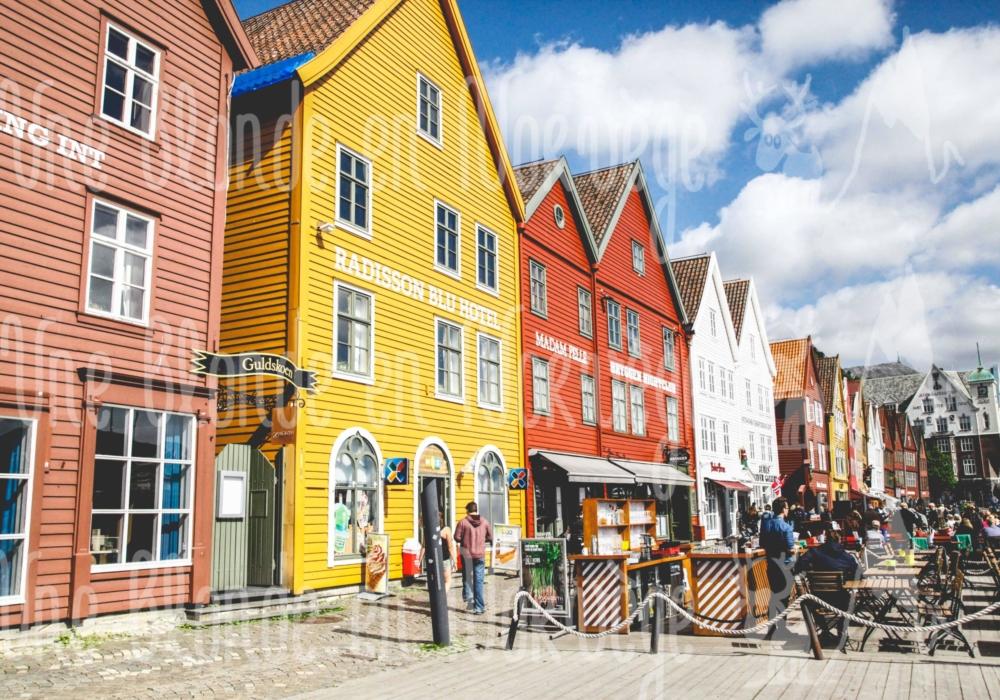 Bryggen à Bergen