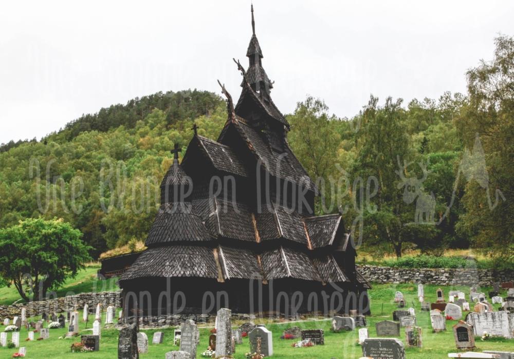 Église en bois debout de Borgund