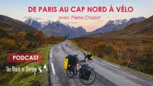 De Paris au Cap Nord à vélo avec Pierre Chazot - Une blond en Norvège