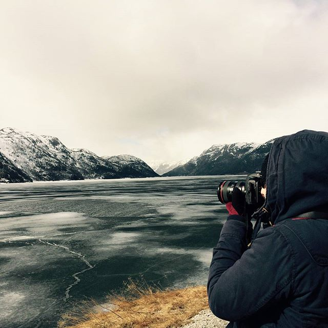Photophaphe - Une blonde en Norvège