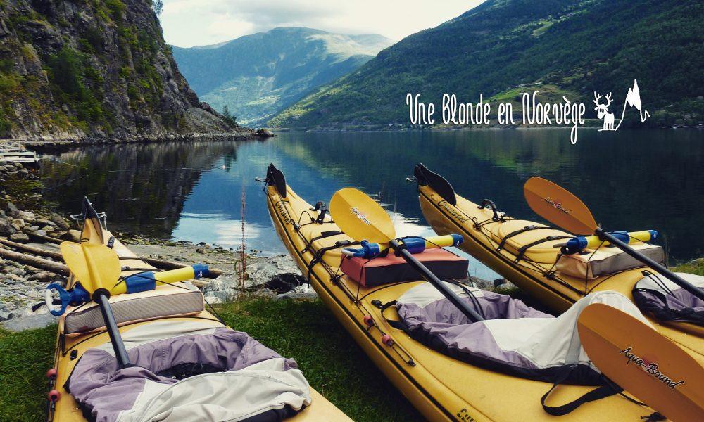 Faire du canoé en Norvège