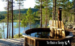 Bain Nordique - Une blonde en Norvège