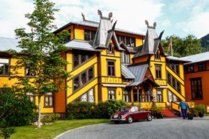 Dalen Hotel - Une blonde en Norvège