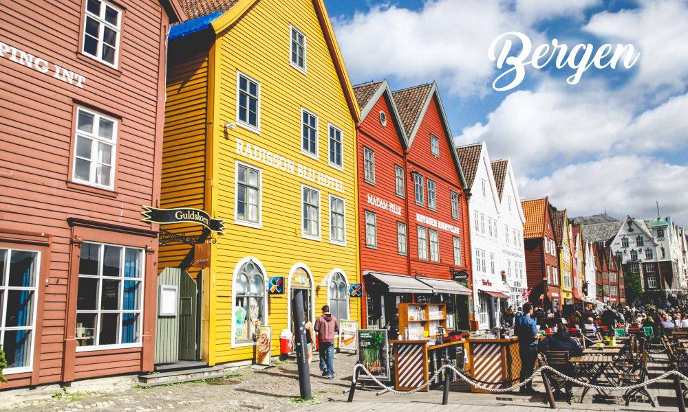 Bergen - Une blonde en Norvège