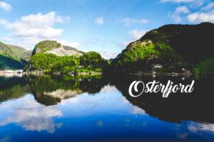 Le osterfjord - Une blonde en Norvège