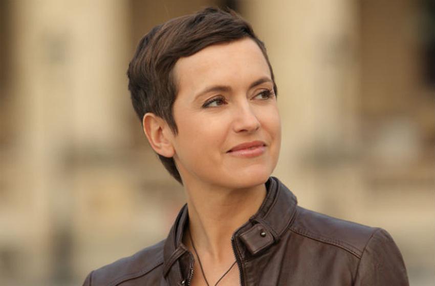 Sophie Jovillard, présentatrice d'Echappées Belles