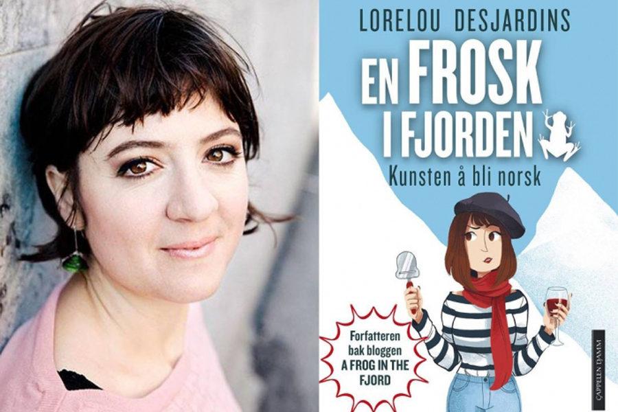 Lorelou Desjardins, créatrice du blog «A Frog in the Fjord»