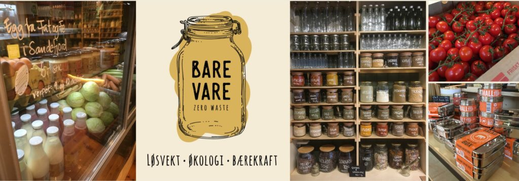 Bare Vare : boutique de vente en vrac à Tønsberg - Une blonde en Norvège
