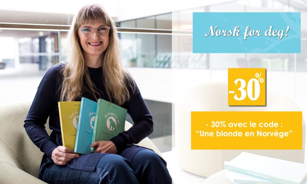 – 30 % sur les cours de Norvégien chez «Norsk For Deg»