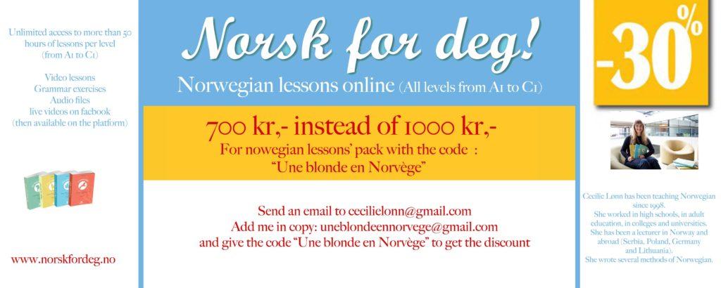 Learn Norwegian - Une blonde en Norvège