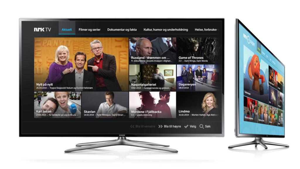NRK Tv - Une blonde en Norvège