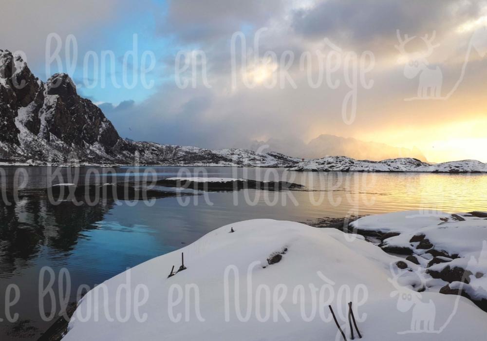 Mélange de couleurs aux Lofoten