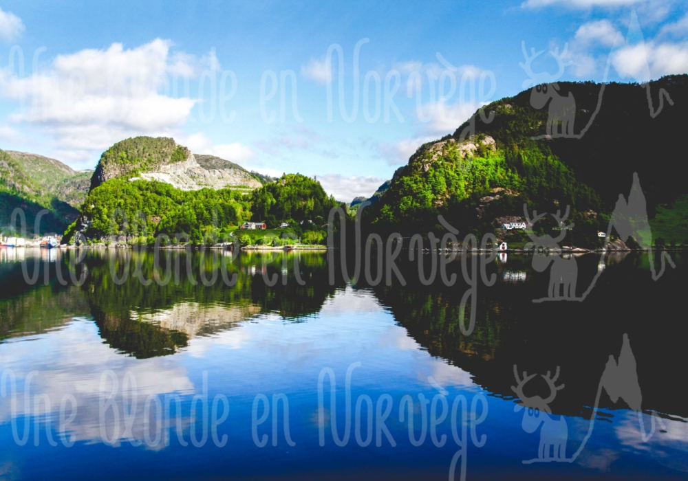 Fjord depuis Bergen