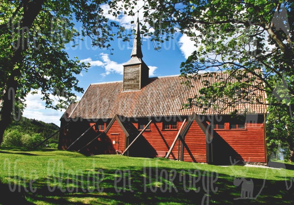 Église en bois debout de Kvernes