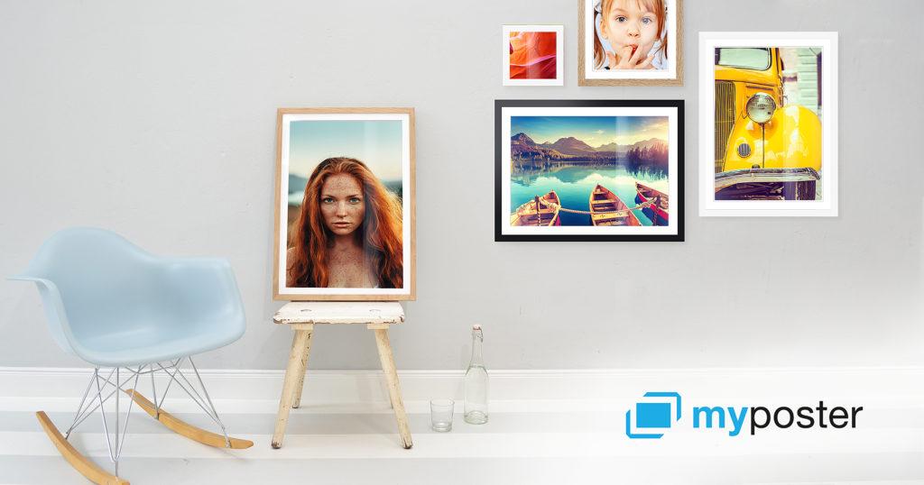 My Poster - Une blonde en Norvège