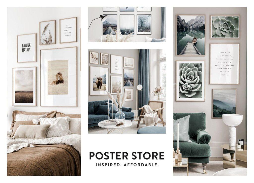 Poster Store - Une blonde en Norvège
