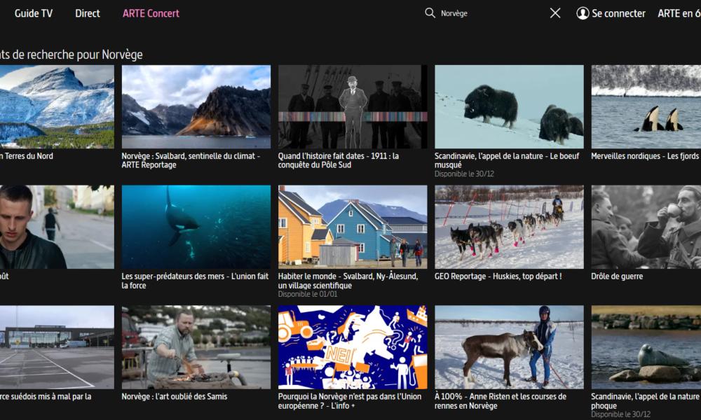 Documentaires sur la Norvège
