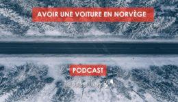 Avoir une voiture en Norvège - Une blonde en Norvège