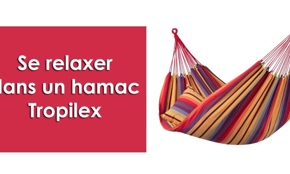 Se relaxer dans un hamac Tropilex