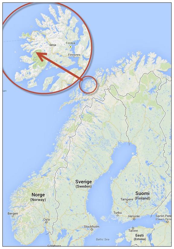 Senja - Une blonde en Norvège
