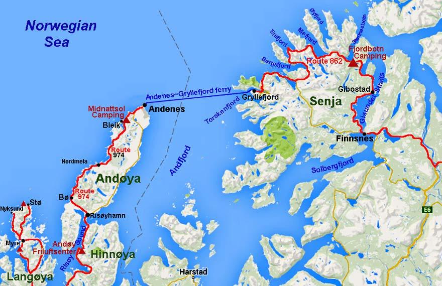 Andøya - Une blonde en Norvège