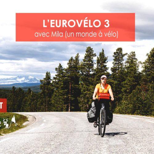 L'EuroVélo 3 - Une blonde en Norvège