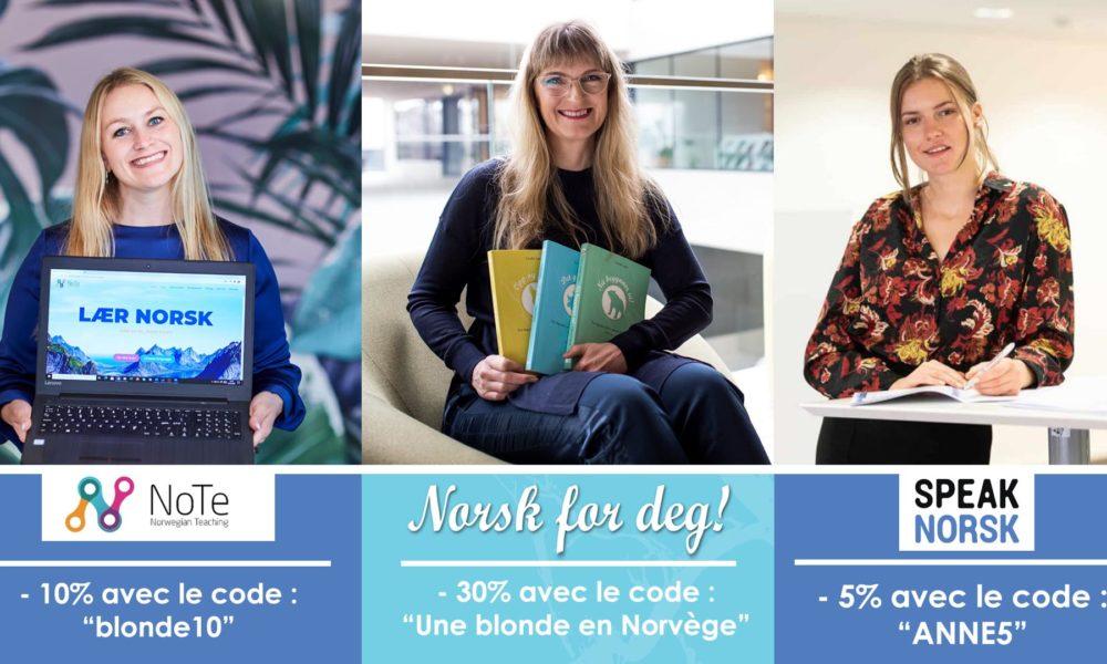 Comparatif de 3 écoles de norvégien en ligne (podcast)