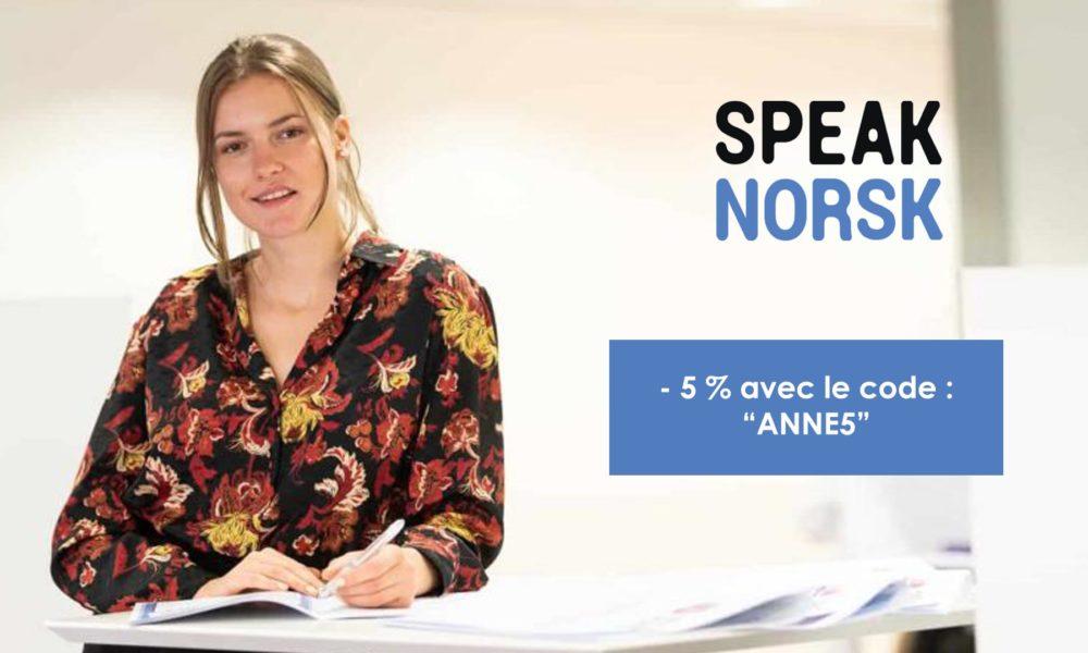 – 5 % sur les cours de norvégien chez «Speak Norsk»