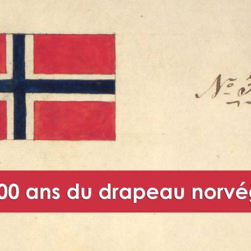 200 ans drapeau norvégien - Une blonde en Norvège