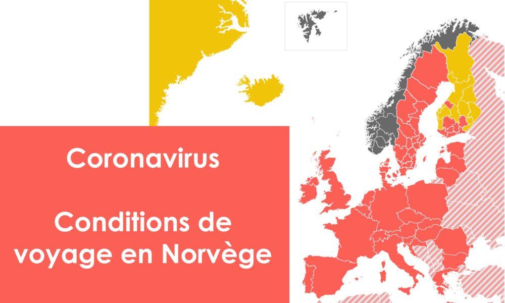 Coronavirus – Conditions de voyage en Norvège