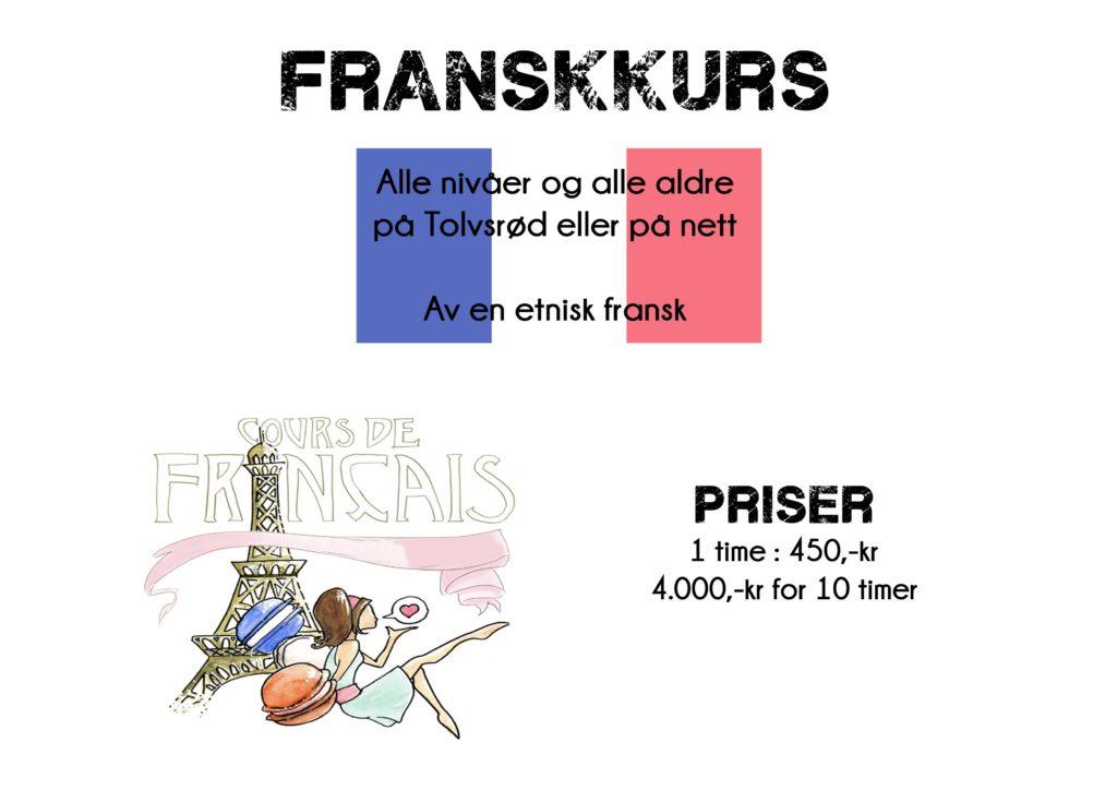 Lær fransk - Une blond en Norvège